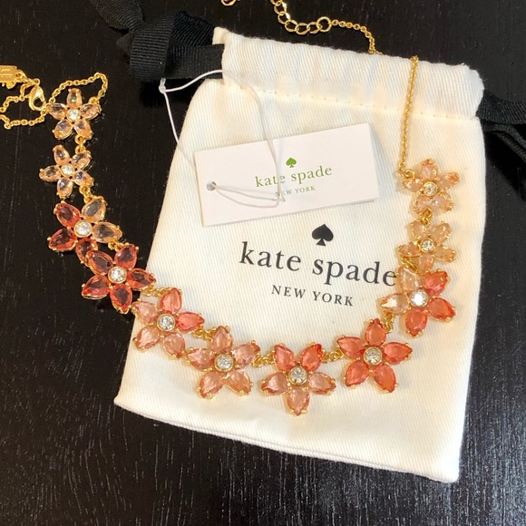 kate spade Jewelry - NWT Kate Spade bed of roses necklace
